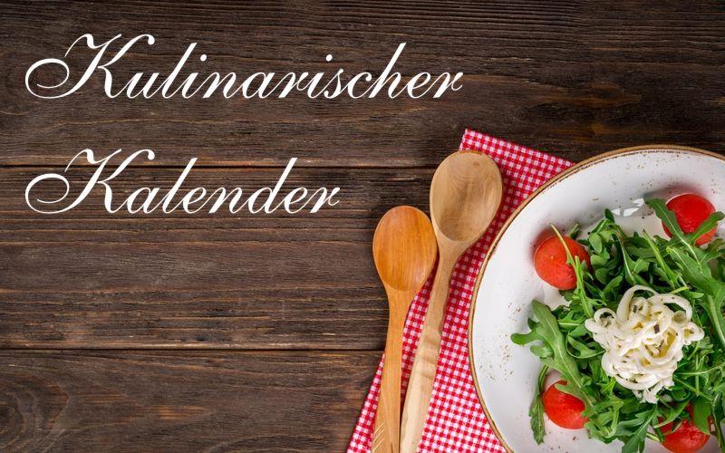Kulinarischer Kalender